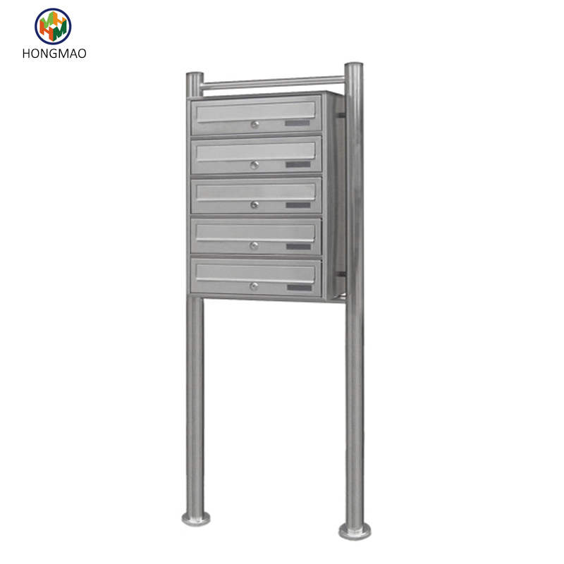 High Security Free Standing Outdoor Apartment Mailbox For Sale