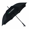 Double layer promotional golf umbrella luxury lace piping folds