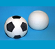 DIY Ceramic Soccer Ball/football shape Money Box/Bank 7cm Great for Decorating