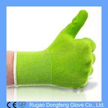 Best Quality Bamboo Gardening Work Gloves/Foam Latex Dipped Garden Gloves for Home and Garden