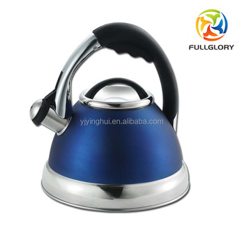 5de8c2a6f99 2.5L Whistling Tea Kettle with Lightweight Stainless Steel Frame and Nylon  Handle