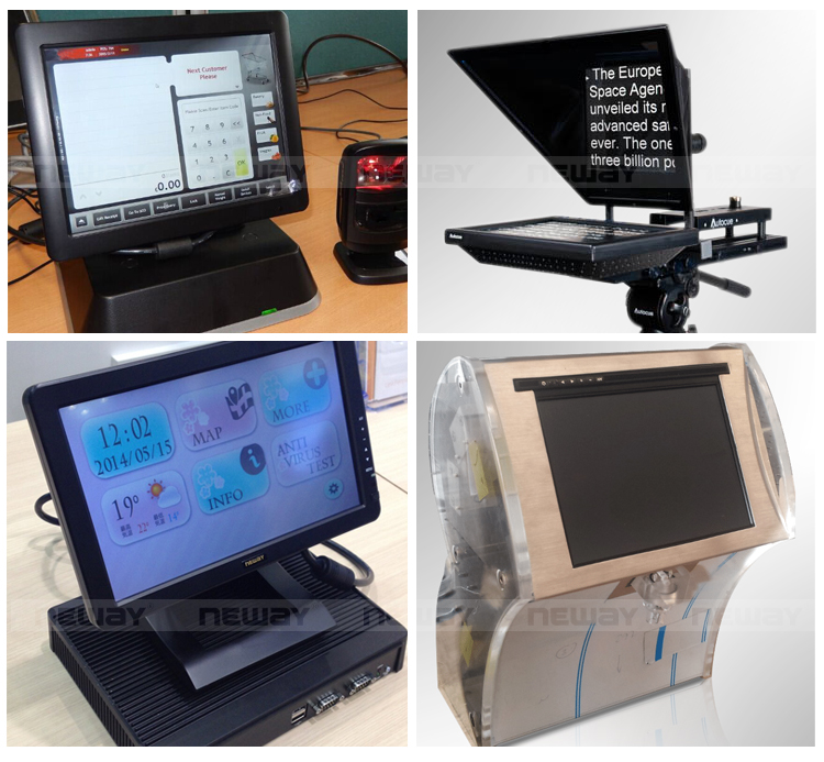 7 inch industrial monitor LCD for POS/Cashier/Fleet management
