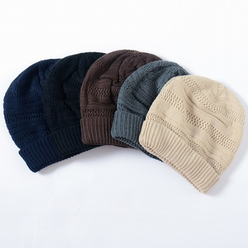 40cc87f62eb S3430 fashion 2018 custom crochet knitted patterns winter hats cool men  beanies for sale