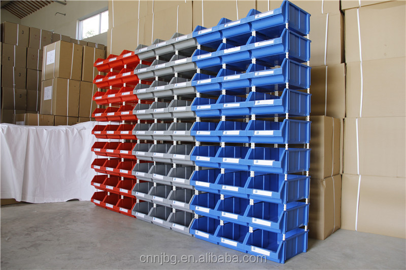 Pl stico apilable contenedores tolva contenedores para el - Contenedores metalicos apilables ...