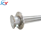 Water heating element immersion tank flange heaters