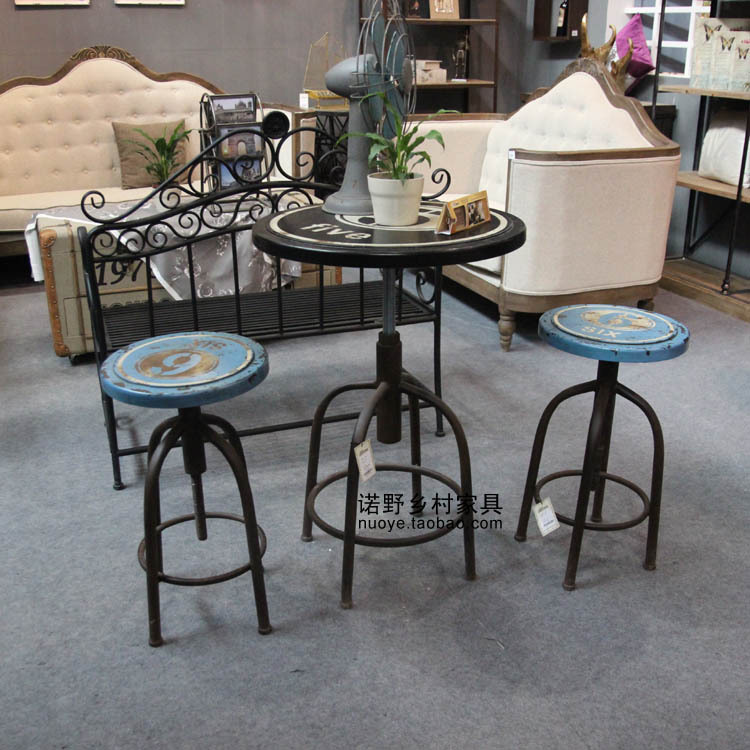american country style table tea table coffee table bar table bar stools loft rustic furniture. Black Bedroom Furniture Sets. Home Design Ideas