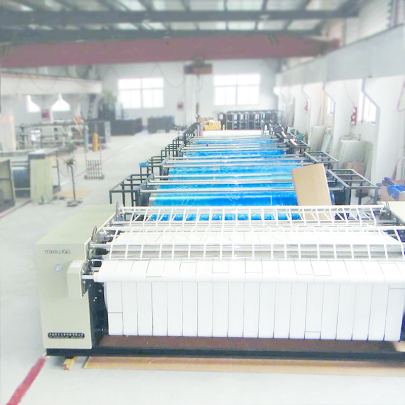 Shanghai Full Auto max 3.3m professional flatwork ironer with heated Cost with Warranty