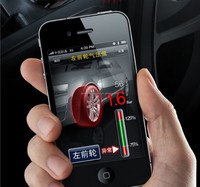 Iphone Use 4 external Sensors Car Use Bluetooth TPMS With Old Bluetooth Receiver