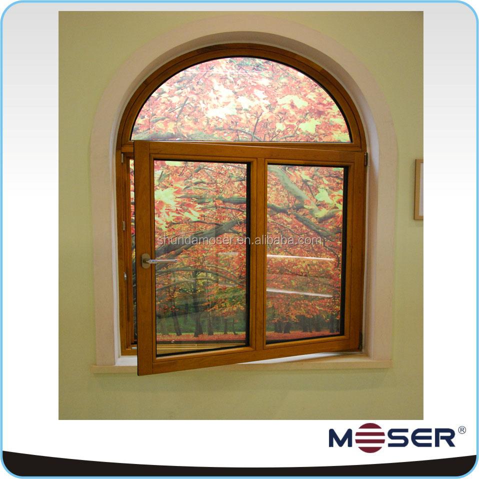 Encuentre el mejor fabricante de ventanas de arco de madera y ...