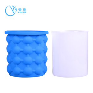 Wingenes Wholesale Ice Cube, Saving Silicone Molds Ice Bucket/ Ice Cube Maker Genie