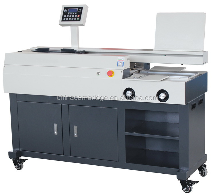 A3 Size Automatic Glue Binder Machine For Graphic Shop