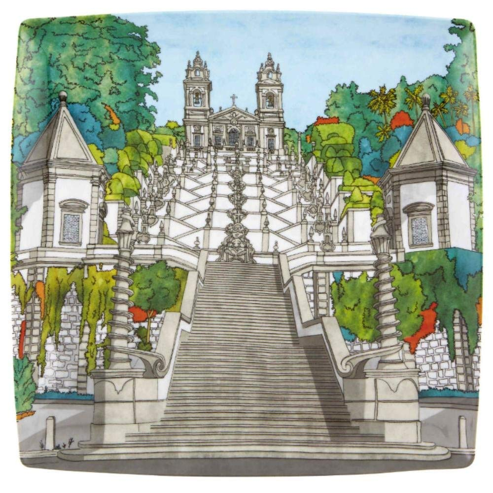 Vista Alegre Soul of Braga Charger Plate Made in Portugal