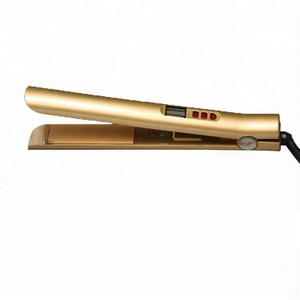 High Quality Ceramic Hair Straightener Flat Iron, Ceramic Plate Hair Flat Iron Audit By CE