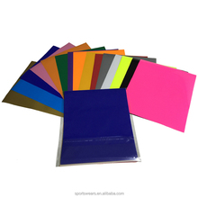 Large in stock 33 colors t-shirts heat transfer vinyl sheets for clothing