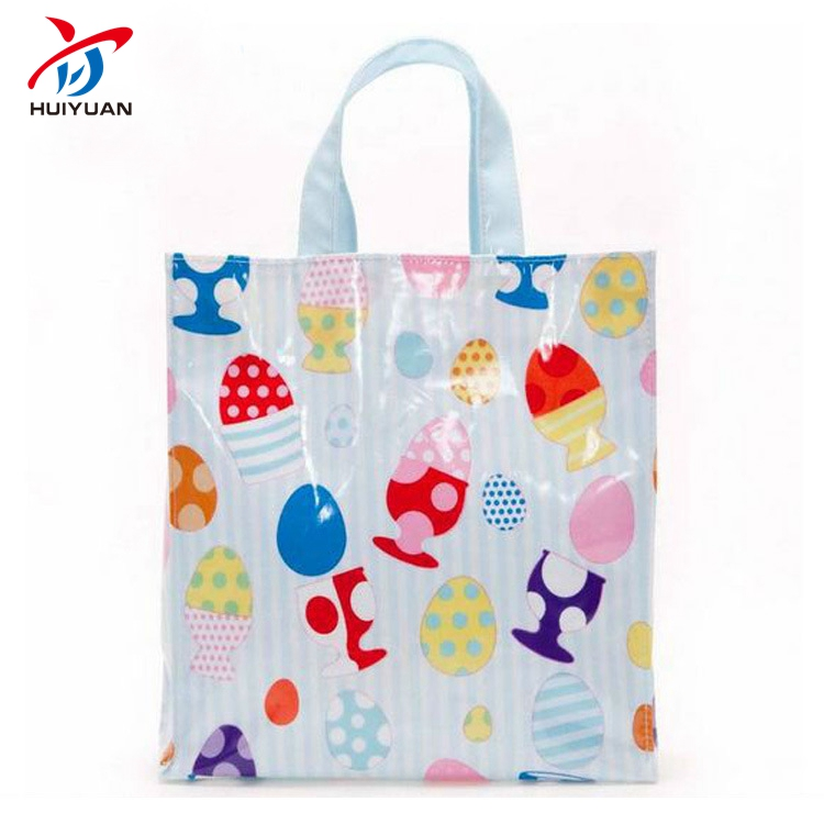 Custom clear pvc bag transparent tote shopping bags