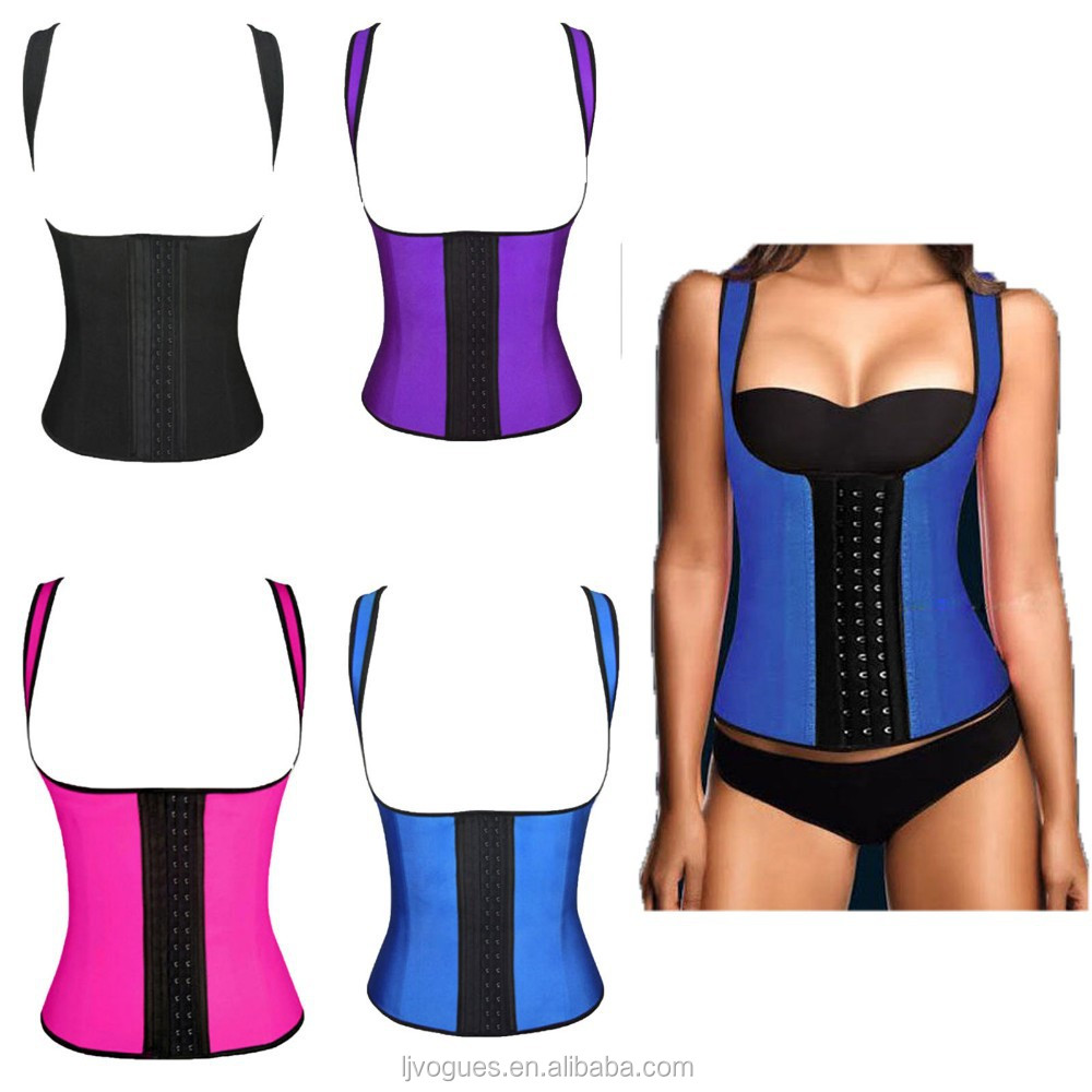 cheap waist training latex lingerie corsets for fat people