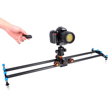 YELANGU Blank Autodolly L4 Motered slider Camera Dolly for DSLR Camera and Mobile phone