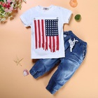 Cheap Prices Short Sleeves Wholesale Baby Children Boy Boutique Clothes