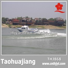 THJ868 Hot Sale Fiberglass Medium Passenger Boat
