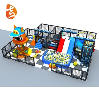New design factory price indoor water multifunctional pvc foam tubes playground equipments set for kids