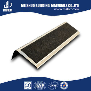 Self Adhesive Stair Treads/Stair Nose Trim With Carborundum Infill