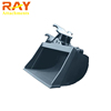 Grab Tilt Rock Bucket For Big Kubota Excavator