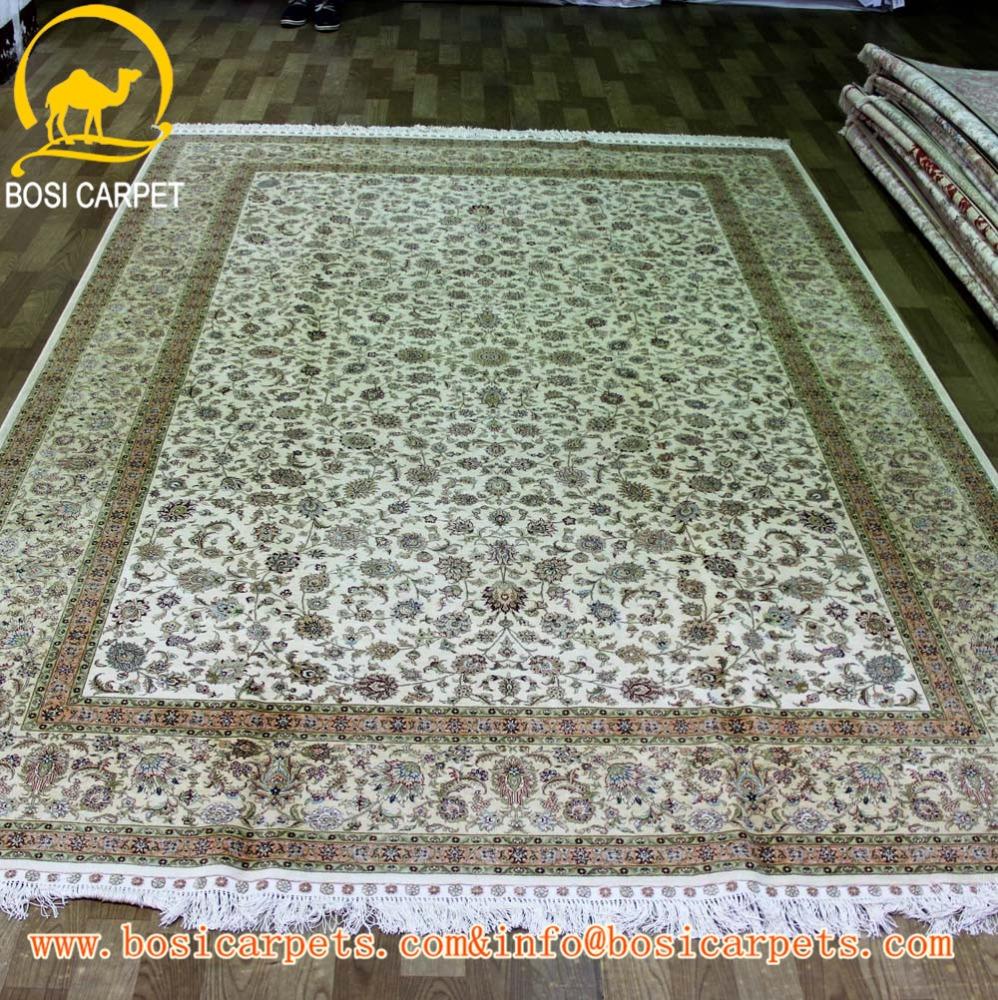 Gut gemocht 6.56x9.84ft iranien tapis de soie tapis tapis faits à la main et  JZ12