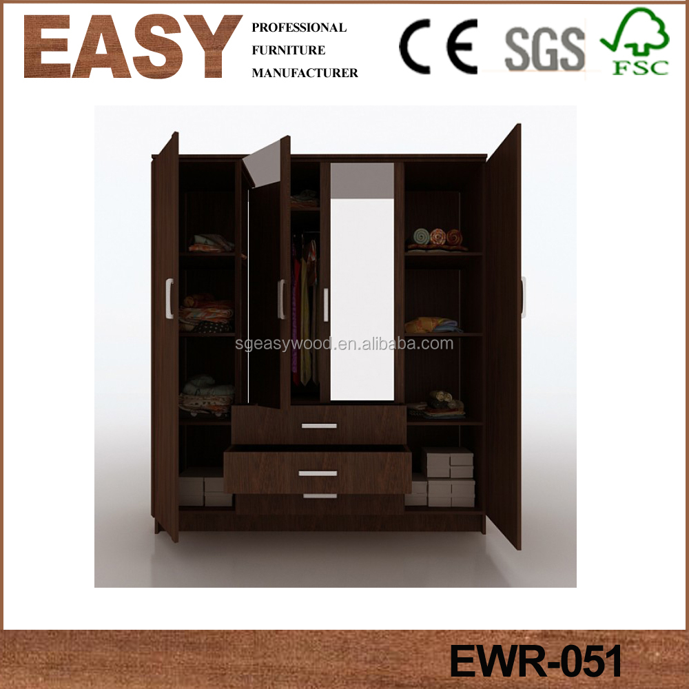 Wardrobe With Dressing Table Designs For Bedroom Indian