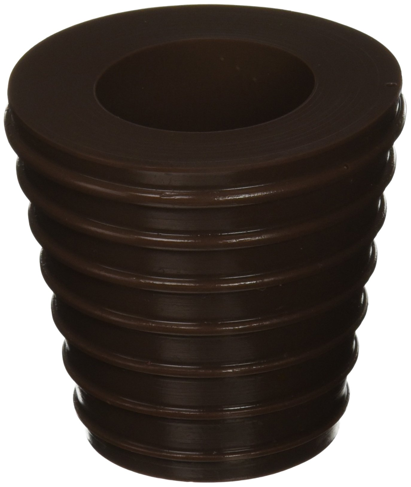 "Patio Umbrella Cone (Brown) Fits 1.5"" Umbrella. Weather Resistant Polyurethane. The Original Made in the USA."