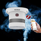 Zigbee heiman smart home alarm smoke detector with Red Doat Award