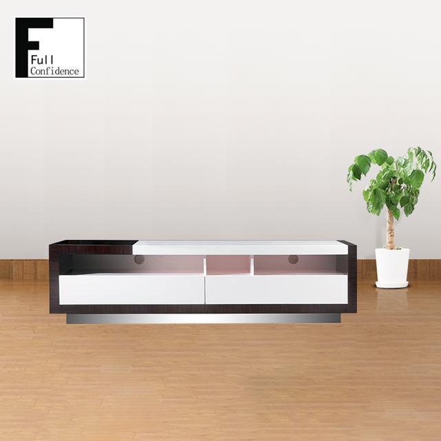 Modern 0 5mm Black Walnut Tv Stand Living Room Furniture
