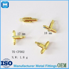 Cheapest Best Quality Gold Brass Cufflinks Cuff-link Wholesale