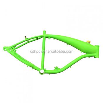 Reinforced Gt-a Gas Frame W/fuel Tank 2.4l - Green - Buy Motorized ...