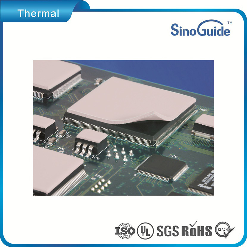 7.5W/m.K Thermal Conductive Gap Pads With Lowest Thermal Impedance