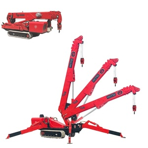 3 tons super mini lifting crane small spider crane