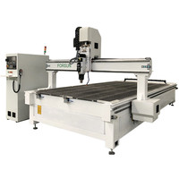 Jinan popular Wood router 3d machine carving carved panel mdf cnc 1325 9kw atc