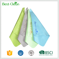 190GSM 15cm By 18cm Microfibre Spectacle Lens Cloth for Cleaning