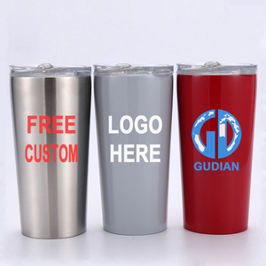 Stainless Steel Tumbler Travel Coffee Tea Double Walled Tumbler with Custom Logo