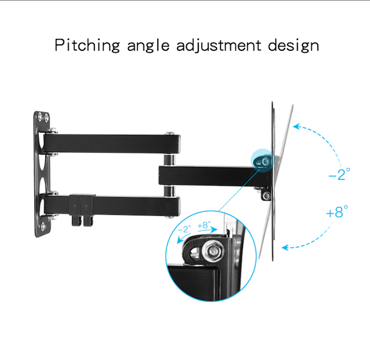 EW-S37(D)high quality tilt lcd wall mount popular tv mount