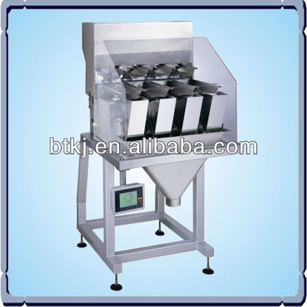 BT-ACZ-A electric weighing scales, Large 4 Head Linear Weigher, Linear type weigh fill machine
