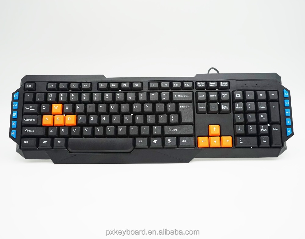 2017 cheapest full black color discount wholesale best multimedia keyboard
