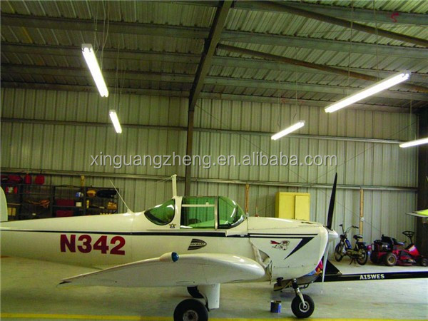 custom made truss aircraft hangar