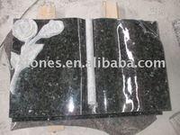 basalt book flower granite carving tombstone monuments