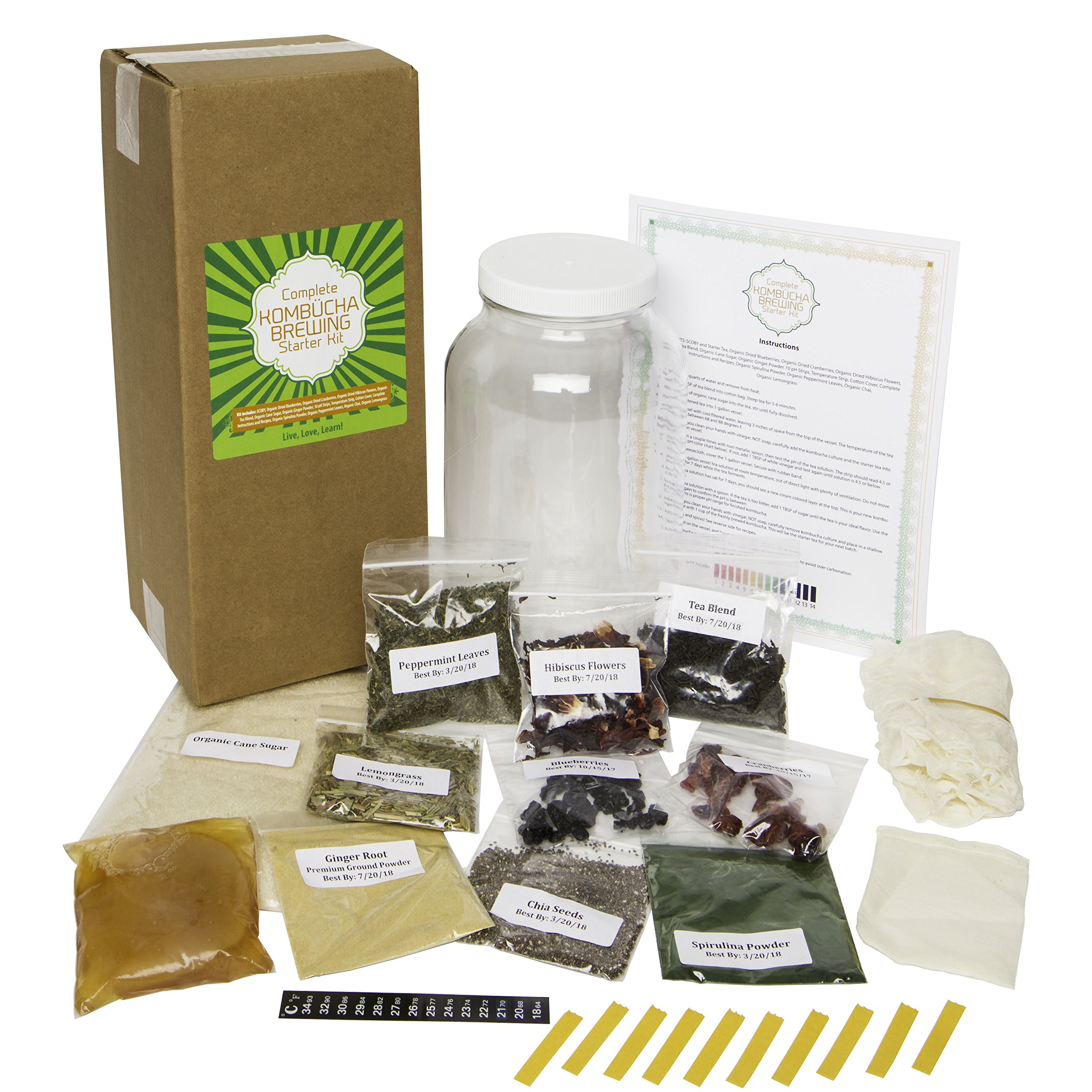 DIY Kombucha Brewing Starter Kit