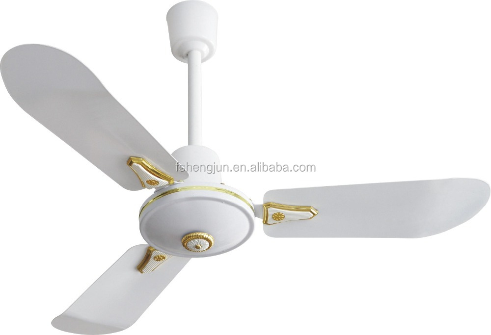 36 Inch Small Aluminum Blade Tmt Style Bed Room Decorative Ceiling Fan With Copper Motor Shami Iraq India Africa