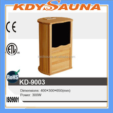 carbon crystal home hemlock cedar foot sauna far infrared popular in Korea