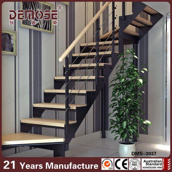 la viga de acero de los modelos de las escaleras para