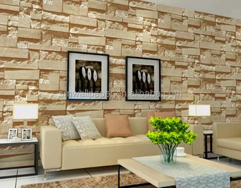 Hot Sale Factory Low Price 3d Stone Bricks Pvc Wallpaper Buy Brick Pvc Wallpaper Low Price