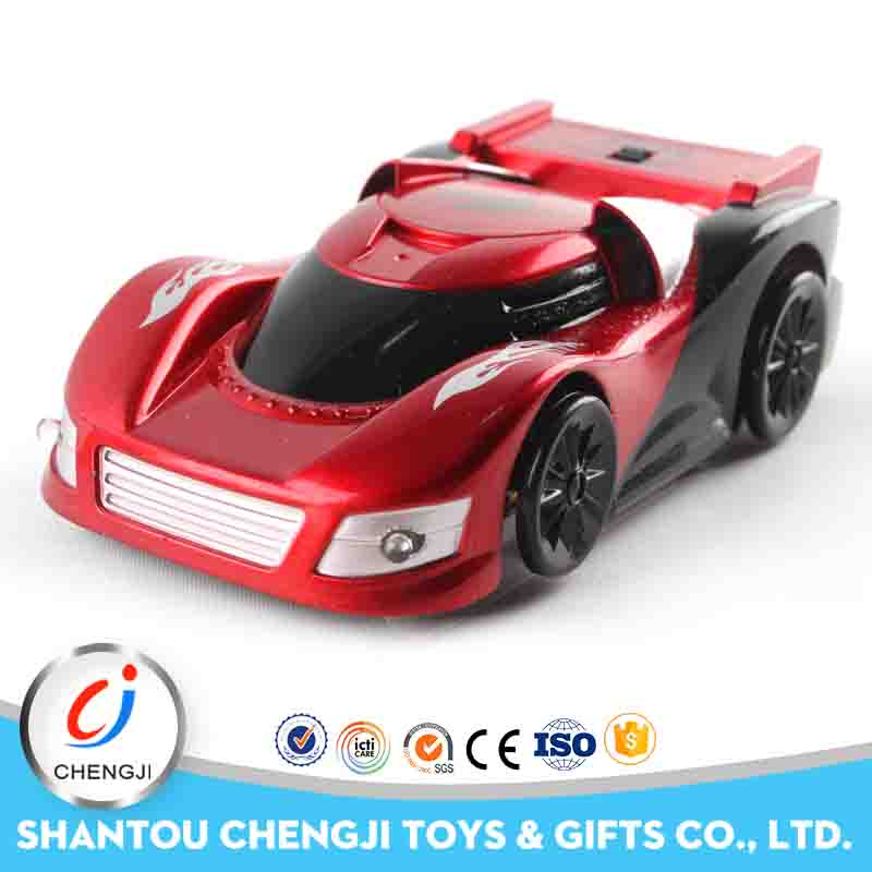 Wholesale high speed child toy mini remote control wall climbing car