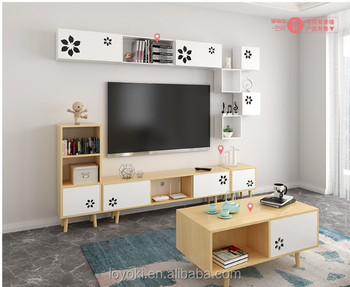 2018 New Modern Beech Wood Coffee Table Solid Wood TV Stand ,cabinet ,rack ,